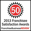50 - 2013 Satisfaction Award