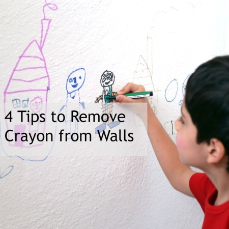4 hacks for removing crayon from walls - Remove crayon walls ...