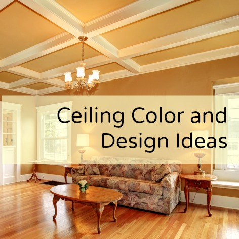 Ceiling color and design ideas for Ceiling paint colors ideas