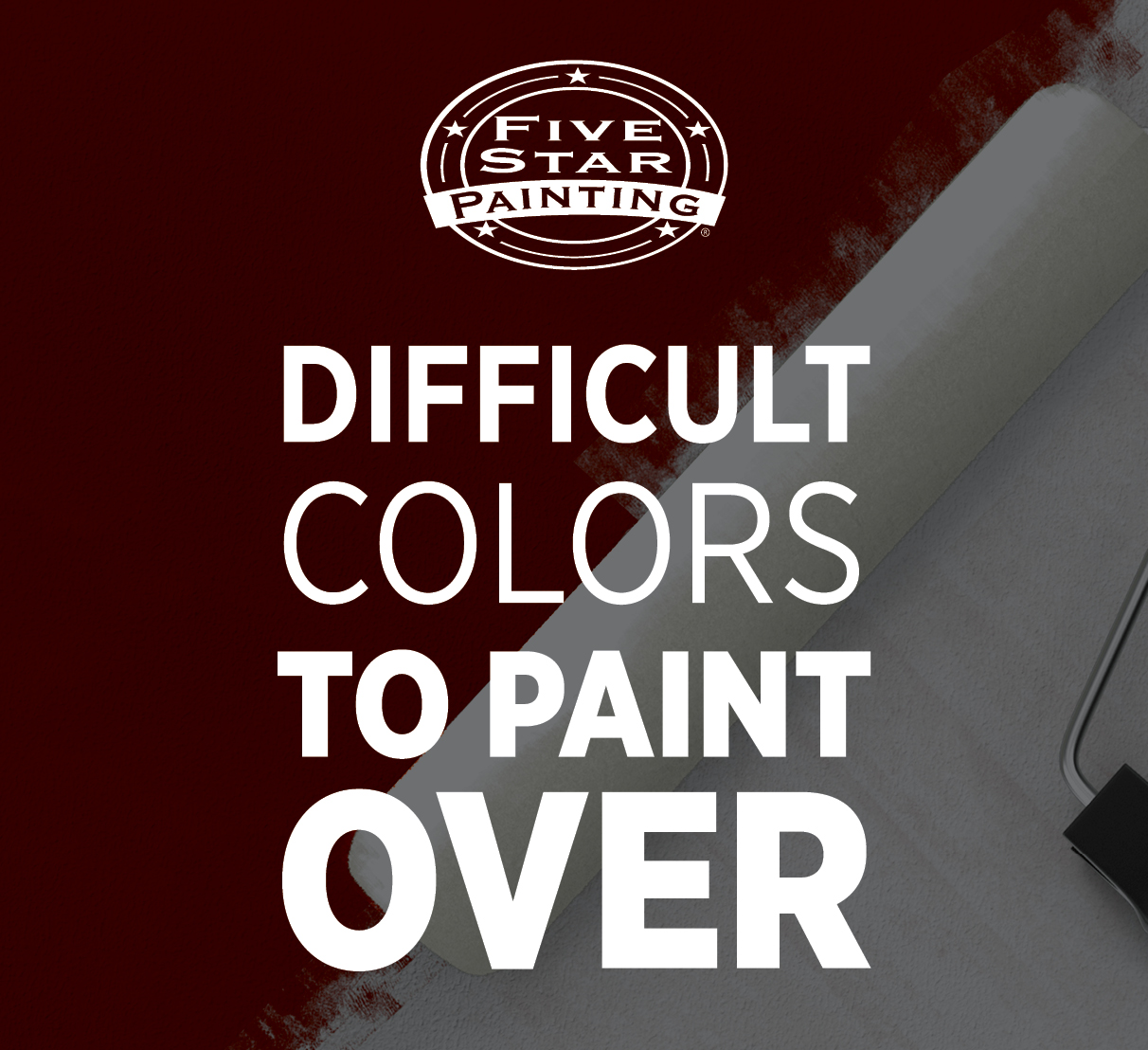 Difficult Colors To Paint Over