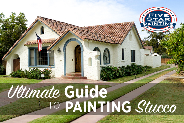 Painting Stucco Best Way To Paint Stucco Five Star