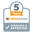 HomeAdvisor Screened & Approved 5 Years