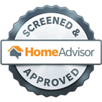 Home Advisor Screened & Approved badge
