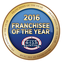 Five Star Painting 2016 Franchisee of the Year
