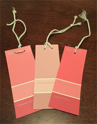 Paint Swatch Valentine Craft
