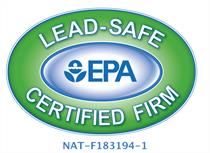 Lead-Safe certified from EPA
