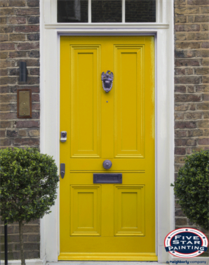 how to paint a front door how to paint a front door without removing it