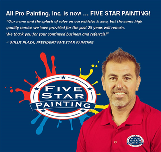 Five Star Painting of Corona