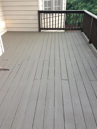 when should you repaint a deck, peeling paint on deck
