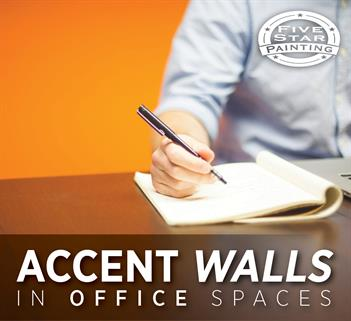 Accent Walls in Office Spaces