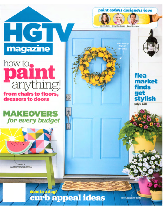 hgtv magazine paint how-to