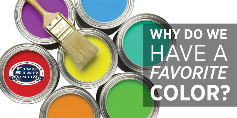 Why Do We Have A Favorite Color: Various Colors of Paint with Paintbrush