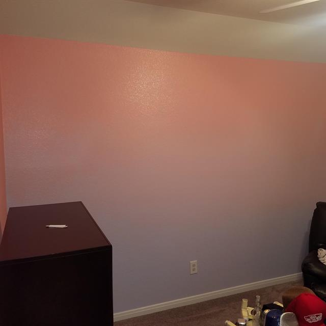 Wall Painted Pink