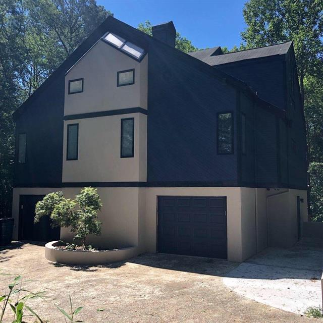 exterior home painting job
