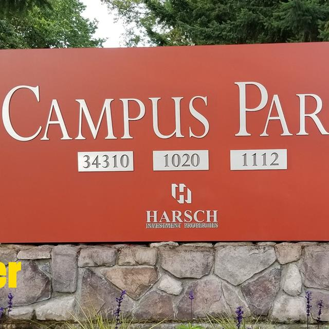 Campus park after