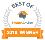 2016 Winner Best of HomeAdvisor