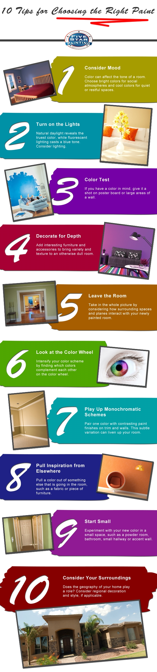 Photo of 10 Tips for Choosing the Right Paint