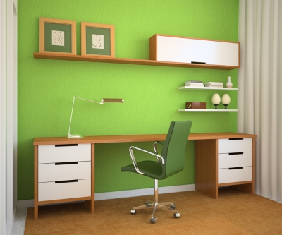 Bold Office Paint Colors