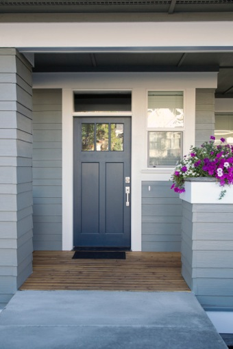 Light/Dark Gray Combo Front Porch