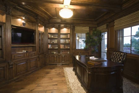 Man Cave Design: The Study
