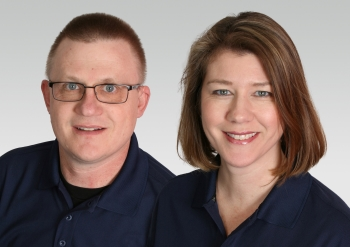 Five Star Painting franchise owners Kevin Eveker and Carolyn Griffin