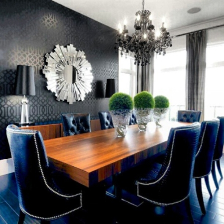 Dining Room Decor Upholstery