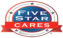 Five Star Cares Badge