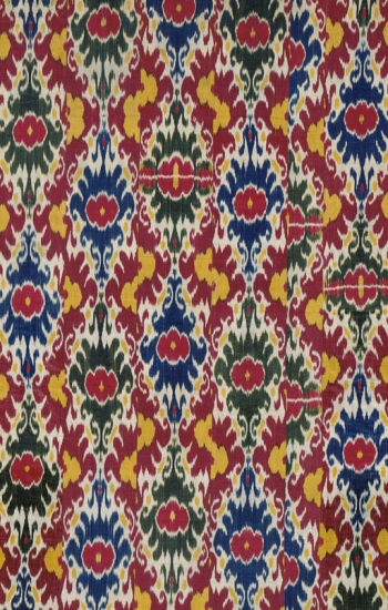 Brightly Colored Ikat