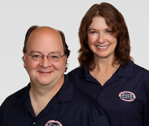 Mark and Patty Pittman, owners of Washington State's first Five Star Painting franchise