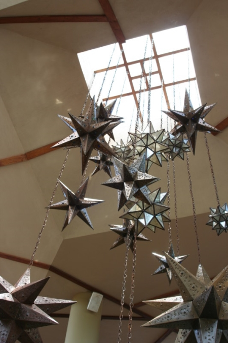 Large Scale Star Mobile Decoration