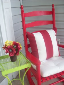 Patio Furniture Complimentary Colors