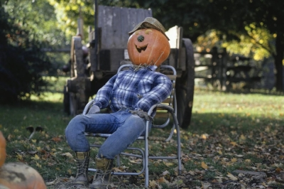 Scarecrows Halloween Design Tip