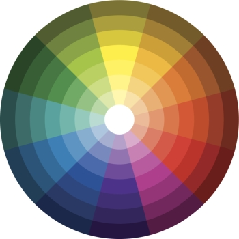 Color coordination lessons from the color wheel - Le cercle chromatique ...