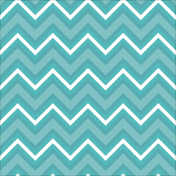 Blue and White Chevron Pattern