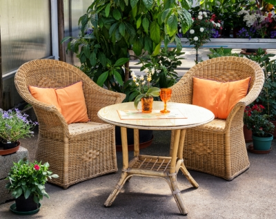 Clean the Patio Furniture