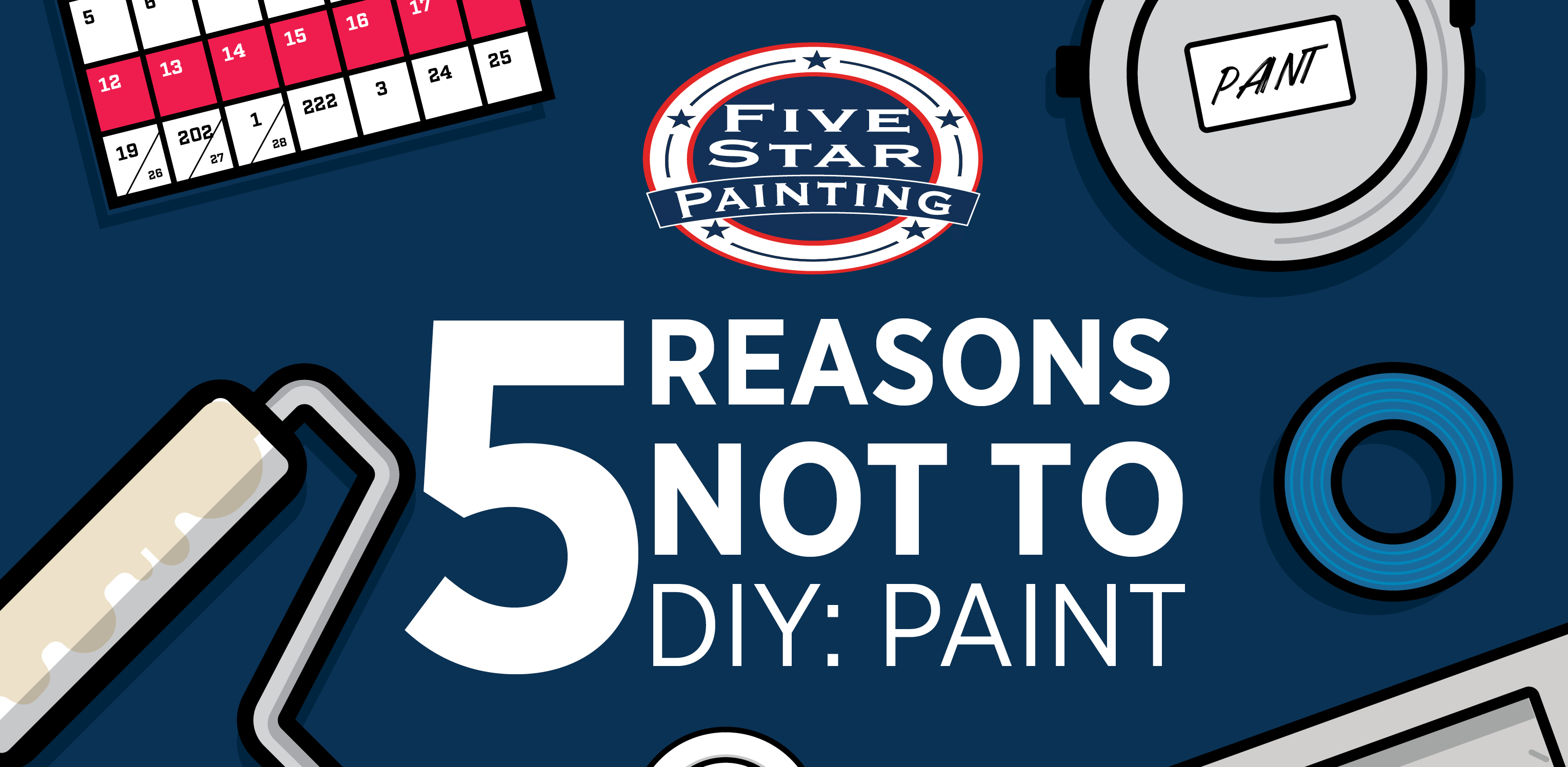 5 Reasons Not to DIY Paint