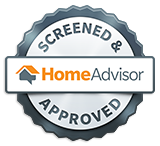 Screened & Approved on Home Advisor Badge