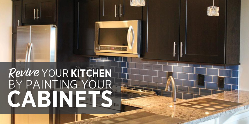 Revive Your Kitchen Paint Your Cabinets