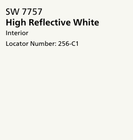 Sherwin Williams: High Reflective White