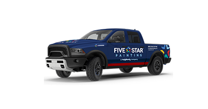 888 261 3633 Five Star Painting Car