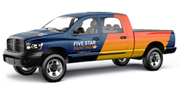 Five Star Painting Truck